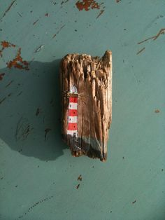 Painted driftwood brooches, Anything Arty
