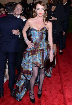 Christina Ricci wearing Vivienne Westwood