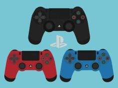 Ps4 Pads (All colors) by GrubyKisiel on @DeviantArt