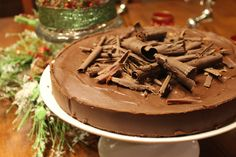 Flourless chocolate torte recipe - about 15 of my current favorite recipes come from The Sisters Cafe website!