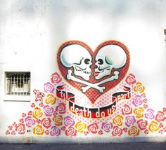 Poppytalk: Dispatches from Austin: Street Art Valentine