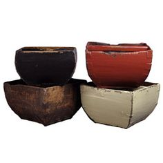 Vintage Chinese Rice Bucket $46 per Overstock