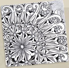 "I'd so much love to devote more time to learning to draw ""zentangle"" style. I get so enamored with fractals ^.^"