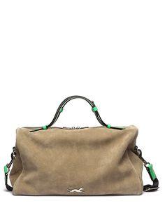Bimba y Lola handbag - their logo is a greyhound