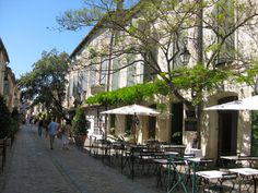 A street of temptation in Aigues Mortes, a medieval city near Montpellier in the Carmargue Places Ive Been, Places To Go, Montpellier, France Travel, Enchanted, Medieval, Cities, Beautiful Places, Memories