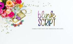 The Big Font Bundle (Blink Script Font) by TheHungryJPEG | TheHungryJPEG.com