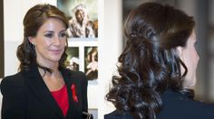 Prinsesse Marie of Denmark - hair style with the wow factor | Billed Bladet