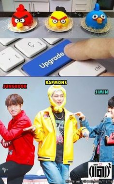 Meme Center | allkpop Oh my BTS angry birds