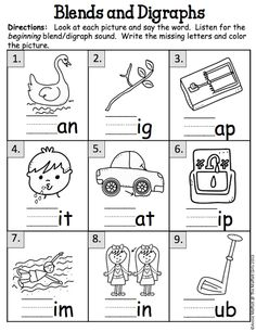 Blends and Digraphs!