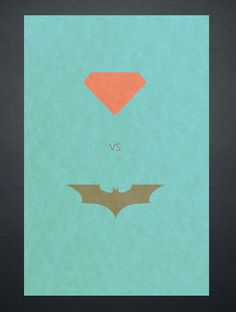 Superman vs Batman #Poster #Inspiration