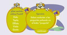 Infantil Mercedarias: JUEGO DE LOS SENTIDOS