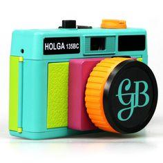 {Holga 135BC Gretchen Bleiler} lomography Holga - OMG, I want this colourful crazy Holga!!