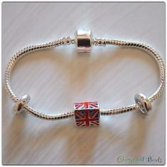 UNION JACK bracciale/bracelet for all directioners (one direction) new