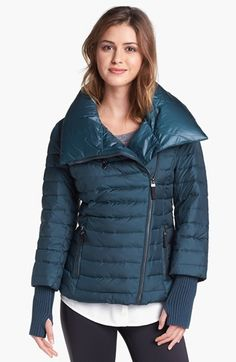 Marc New York by Andrew Marc 'Sparks' Knit Cuff Puffer Jacket | Nordstrom $130 @Michelle Flynn Coleman.nordstrom.com