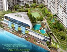 """""""We're creating an experience. An experience that becomes a destination. A destination that people can say, Yes I want to live there."""" – Broadway Malayan    www.acqua-livingstone.com for more info pls contact francisco pareja @  khikopareja@gmail.com Condos For Rent, Condos For Sale, Maids Room, River Stones, Luxury Condo, Building Facade, Architecture Photo, Urban Landscape, Manila"""