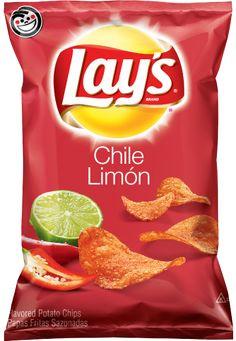 Lay's Potato Chips! Chile Limon