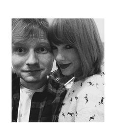 Ed Sheeran and Taylor Swift- aren't they just the best?!