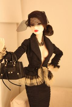 Doll (love the tulle and lace detail at the bottom of the jacket)