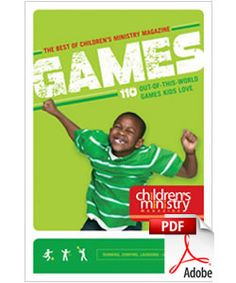The Best of Children's Ministry Magazine: Games (pdf download) mask making, what does God see?