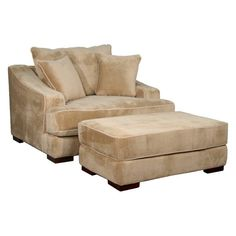 Fairmont Designs Lyndsay Chair and Ottoman Set - D3687-0109/MINMOC