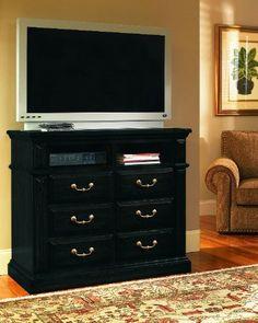 Progressive Furniture Torreon Media Chest, Antique Black |