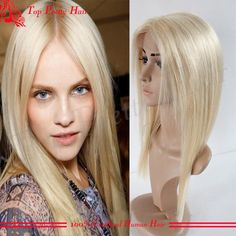 High Quality Blonde Human Hair Lace Wig Glueless Long Straight Virgin Hair Wigs Full Lace Wigs Brazilian With Baby Hair Bleached Knots Half Hair Wigs Human Hair Human Hair Wiglets From Topprettyhair, $148.75| Dhgate.Com