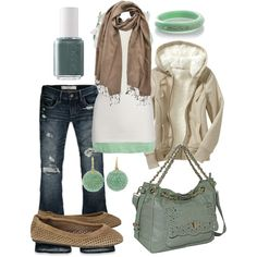 """minty goodness"" by htotheb on Polyvore"