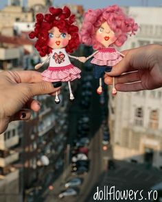 Best friends forever! 💕 Polymer Clay Dolls