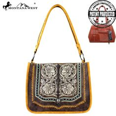 MW337G-8391 Montana West Concho Collection Concealed Handgun Tote Bag #western #momtanawest #west #handbaloverusa #rustic #rusty #country #purse #countrygirl #cattle #american #cowgirl #texas #texan #USA #cowgirl #cattle #countryside #countrylife #gun #guncarry #aztec