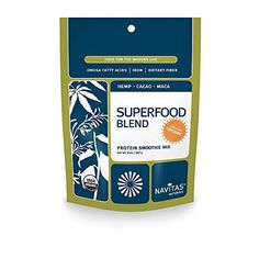 Navitas Naturals Organic Protein Superfood Blend Smoothie Mix 8Ounce Pouches *** ** AMAZON BEST BUY **