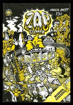 from $459.99 - Zap #Comics 5 9.0 Vfnm 1969 Crumb Moscoso Shelton Williams Yellow Cover Variant