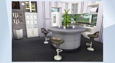 Nombre:  Minimalistic Grey Kitchen. ¡Mira esta habitación en la galería de Los Sims 4! - It's slick, clean and as trendy as trendy gets!