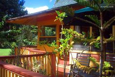 $55 Head to Kauai and stay at this private cottage that's nestled in the mountains near the Anahola river. It's close to the north shore of Hanalei Bay and the Napali Coast, so you can enjoy the surrounding nature while getting away from it all.