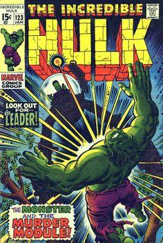 Incredible Hulk # 123 by Herb Trimpe