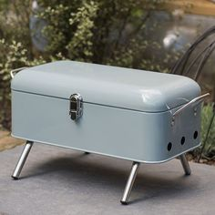 One of our favourite finds of late was the Mon Oncle portable barbecue, which looked amazing, but was so pricey. This Waitrose portable barbecue might be an affordable substitute. Vintage Appliances, Home Appliances, Portable Barbecue, Barbecue Design, Trailer Diy, Petites Tables, Basic Kitchen, Outdoor Kitchen Design, Retro Home