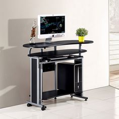 Bedside computer table computer table pinterest folding computer table watchthetrailerfo