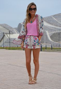 @roressclothes closet ideas #women fashion Floral Outfit for Summer