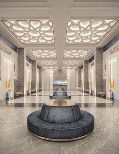 Drawing Room Interior Design, Hall Interior Design, Mansion Interior, Restaurant Interior Design, Classic House Exterior, Classic House Design, Jaali Design, Mosque Architecture, Lobby Design
