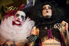 "Dr. Sketchy's Anti-Art School Berlin - Photos - Dr Sketchy No.24 - ""The Dark CarnivalSession"" - Le Pustra + Lexi Sexx"