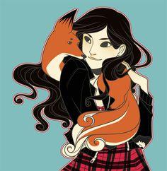 Kira Yukimura fan art - teen wolf