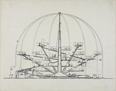 Archigram - Blow-out Village,3; To Become A Village (1966)