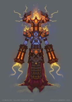 ArtStation - ALLODS ONLINE Creatures and Characters Concept Art, Anylia Larmina