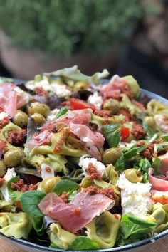 Pasta Salad Recipes, Veggie Recipes, Healthy Recipes, Veggie Food, Tapas, Happy Foods, Italian Recipes, Love Food, Food And Drink