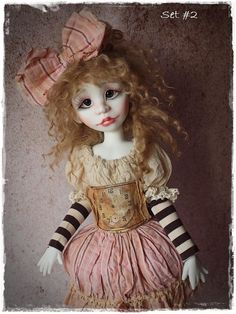Limited Edition Outfit Set For MSD BJD Fits - Kaye Wiggs - Trinket Box -  #Dolls