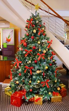 Christmas Tree Holiday Inn Heathrow Airport Holidays