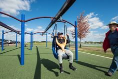 ZipKrooz™ Assisted Additional Bay - Add More Playground Zip Line Fun For Children of All Abilities