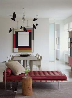 Journelles Designklassiker: Barcelona Chair  Couch von Ludwig Mies van der Rohe