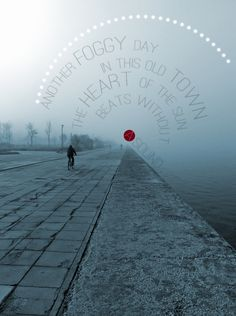 """""""Fog"""" from my project Alternative Snapshots of Our World"""" (Thessaloniki, Greece) Thessaloniki, Our World, Greece, Alternative, Sidewalk, Spaces, God, City, Projects"""