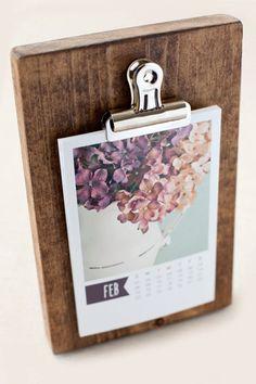 2015 Classic 4x6 Calendar, Photo Calendar, 4x6 Calendar, Desk Calendar, Calendar