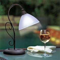Solar Table Lamp, Cordless Light, Outdoor Lighting   Solutions